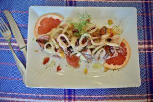 calamaretti in insalata
