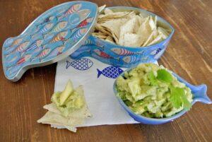 guacamole di avocado e mango