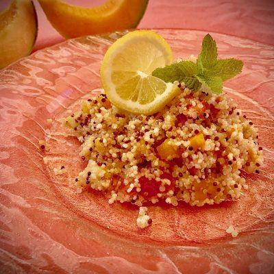 insalata bulgur e quinoa
